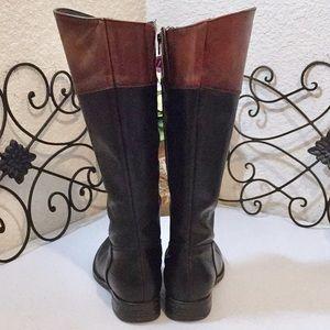 Aldo Shoes - ALDO Leather Two Tone Riding Boots